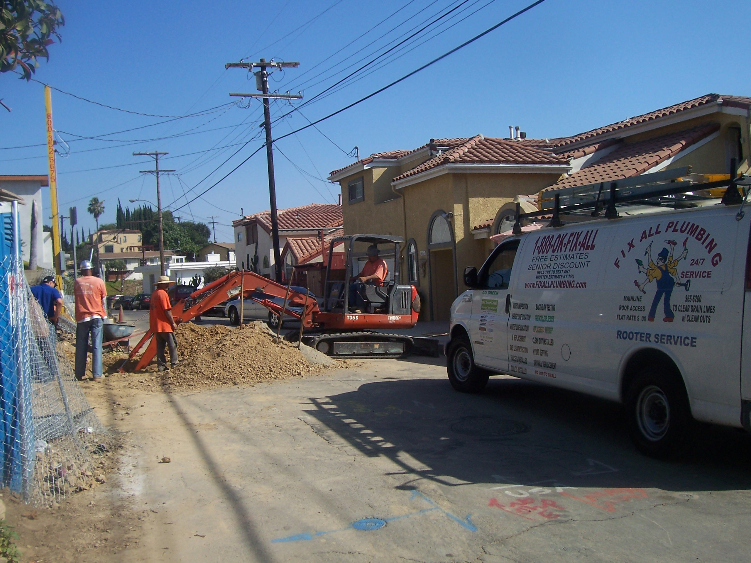 Sewer Tap Istall New Sewer Line For New Home Fix All