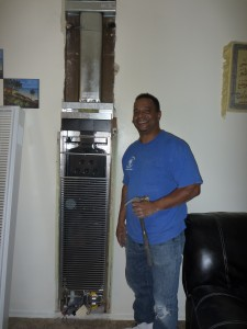 Torrance Replacing Old Wall Furnace Heater And Installing