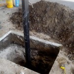 Excavate for Cleanout Access Installation