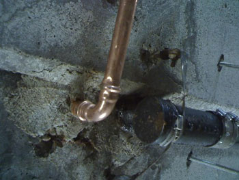Propress copper 90 degree elbow installation