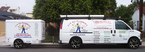 Fix All Plumbing - Expert Plumbers Serving Los Angeles Since 1981.